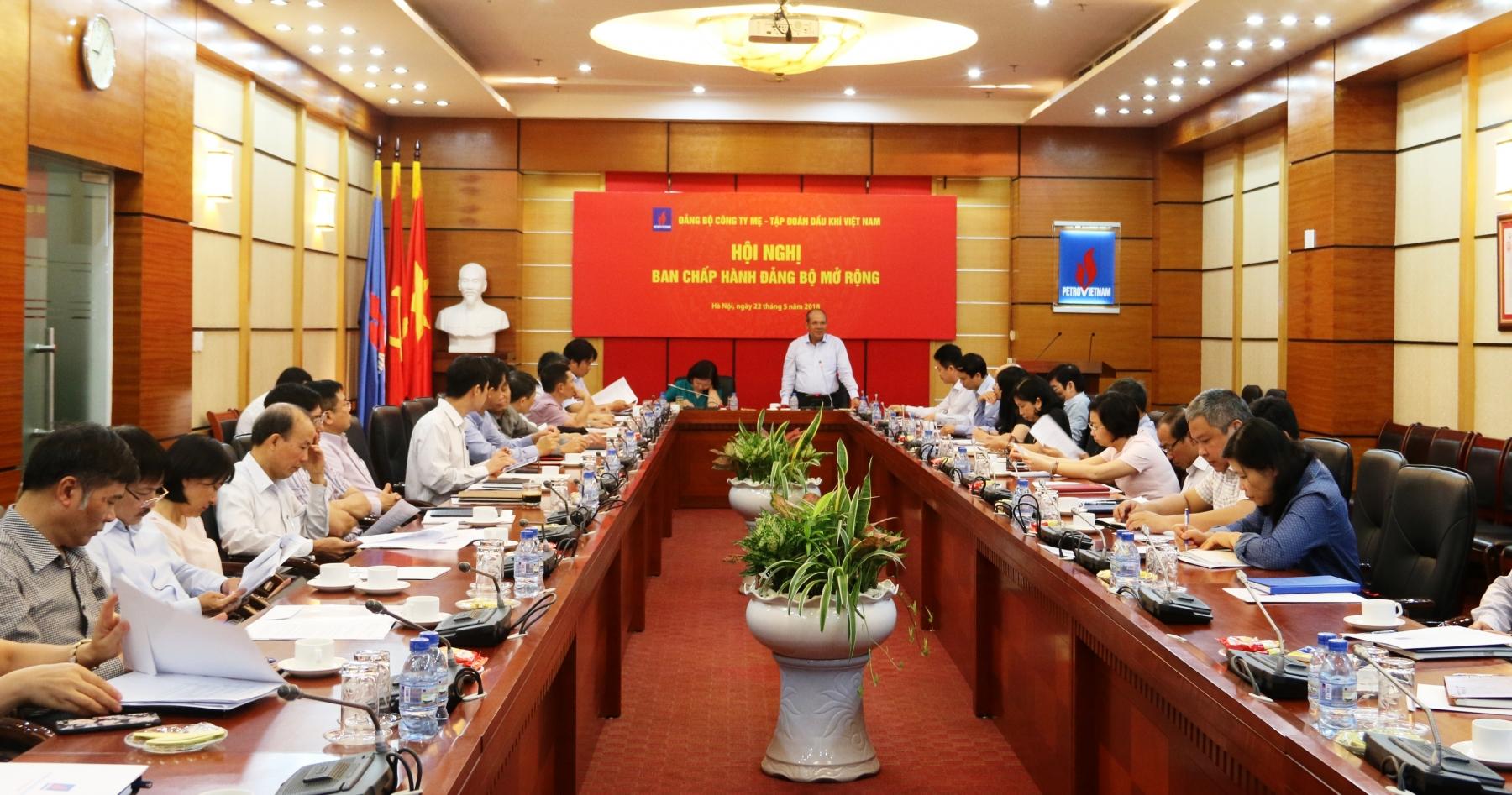 Đảng bộ Công ty Mẹ - Tập đoàn Dầu khí Việt Nam: Kiện toàn tổ chức Đảng